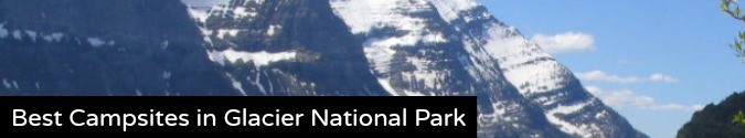 best campsites in glacier national park