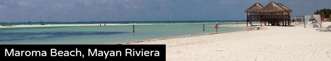 maroma beach mayan riviera mexico