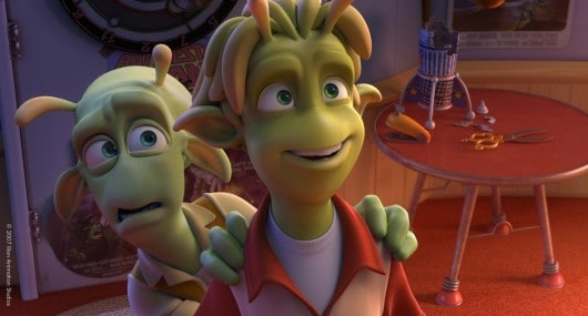 scene from planet 51 movie