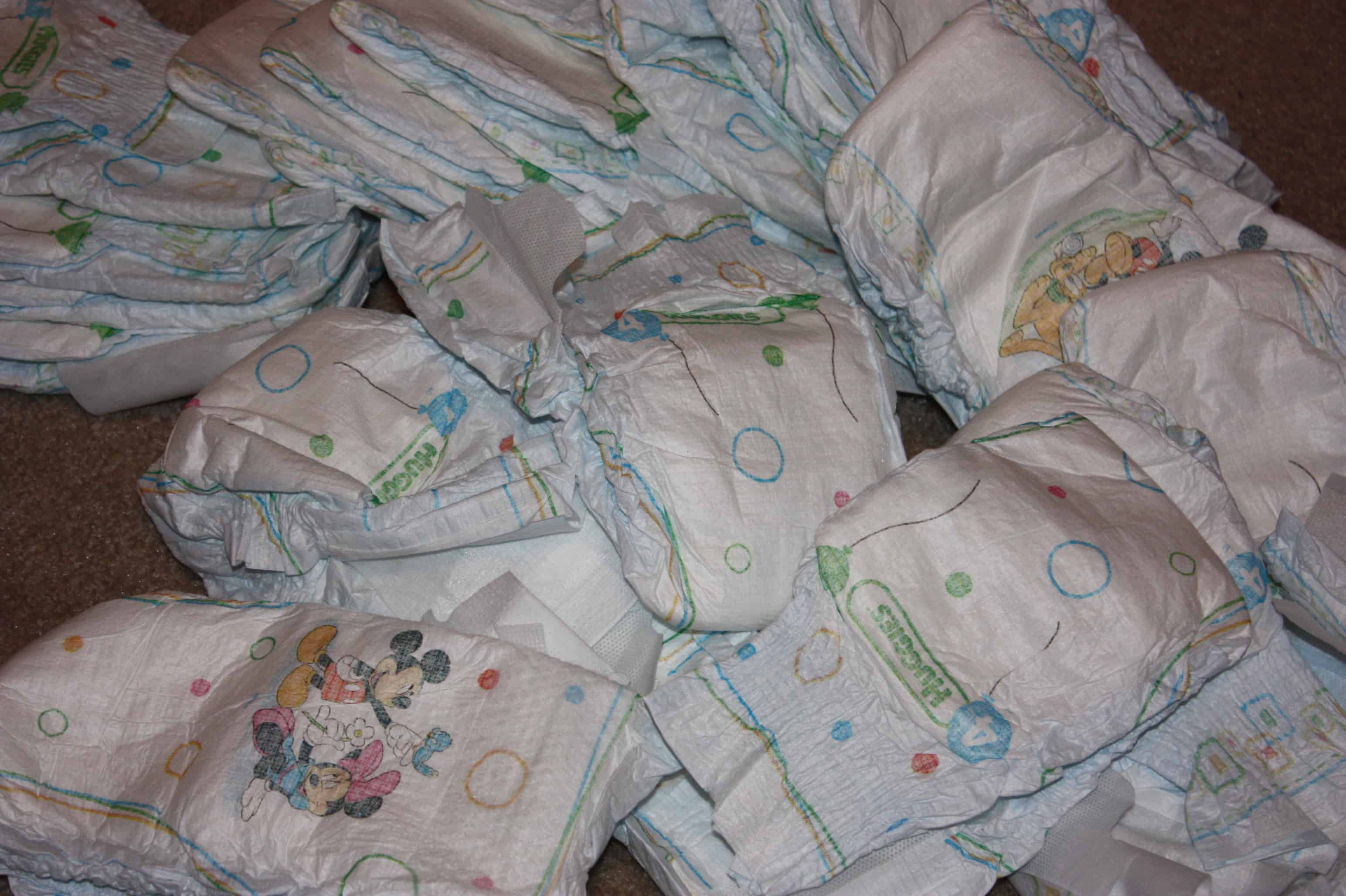 Parenting Twin Toddlers and a Mess of Diapers