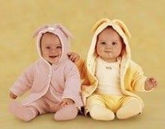 Anne Geddes Baby Bunny Jacket