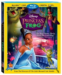 The Princess and the Frog DVD Review