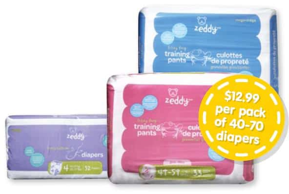 Canada's own Zeddy Diapers