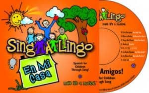 Spanish for Kids, En Mi Casa CD from Sing-A-Lingo