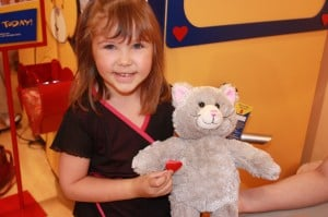 Heart Ceremony at Build A Bear Workshop
