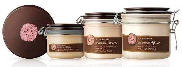 The Body Shop Spa Wisdom Collection