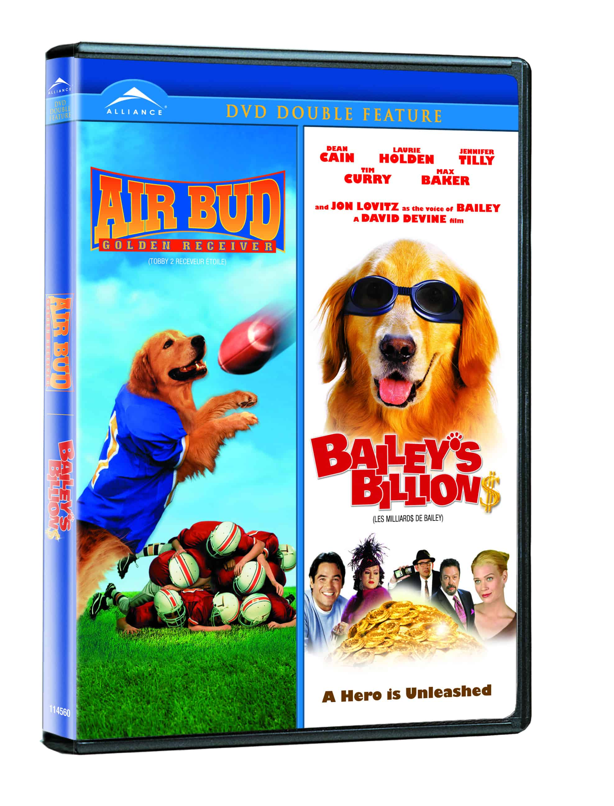AIR BUD 2 / BAILEY'S BILLIONS DOUBLE FEATURE DVD Review