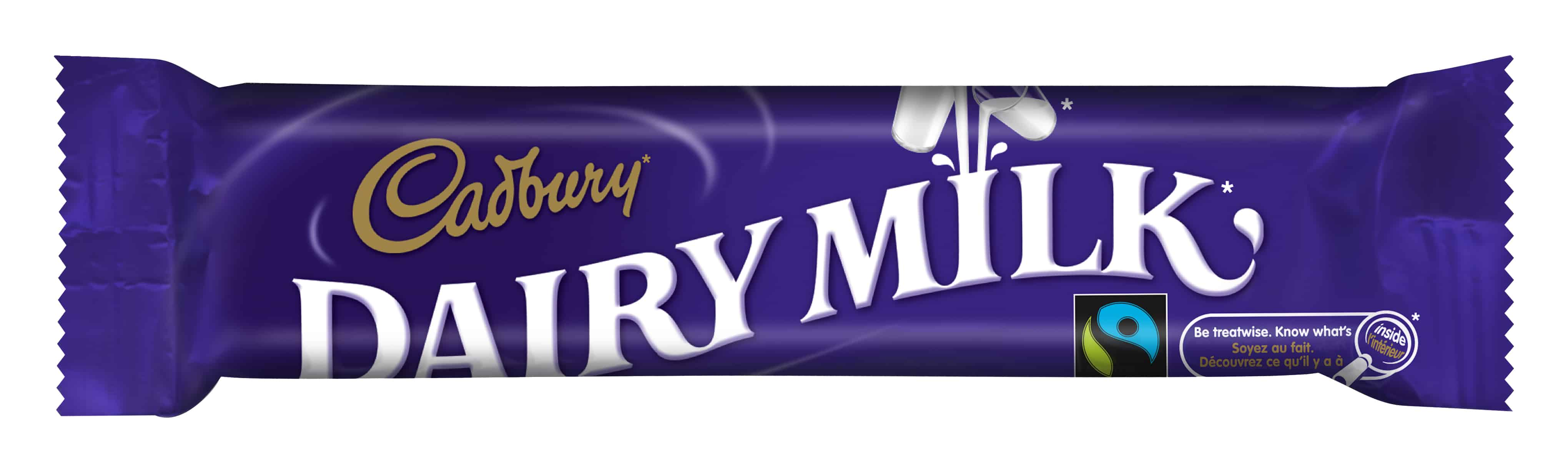 Cadbury Diary Milk Bars Are Fair Trade Certified!