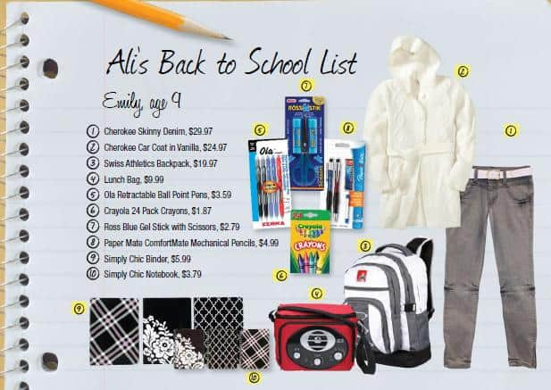 Back To School Shopping with Zellers
