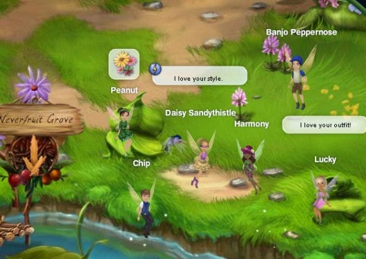 Disney's Pixie Hollow Games