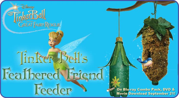Tinker Bell and the Great Fairy Rescue | $10 Off Coupon and Craft Ideas