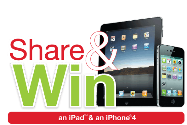 Win an iPad and an iPhone | Canadian Contest