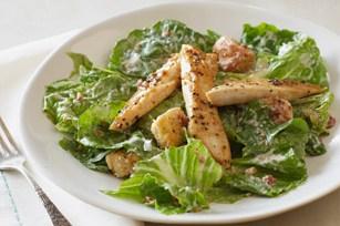 Festive Turkey Caesar Sizzling Salads | Recipe