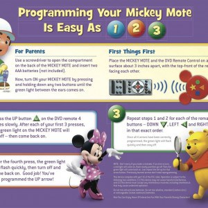 How to Set up Mickey Mote