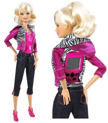New Barbie Incorporates Hidden Video Camera
