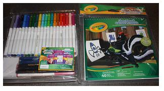 Crayola | Super Tips Points Washable Markers Sketch & Color Set