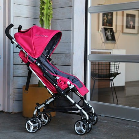 Bumbleride Flite Stroller with Carrycot