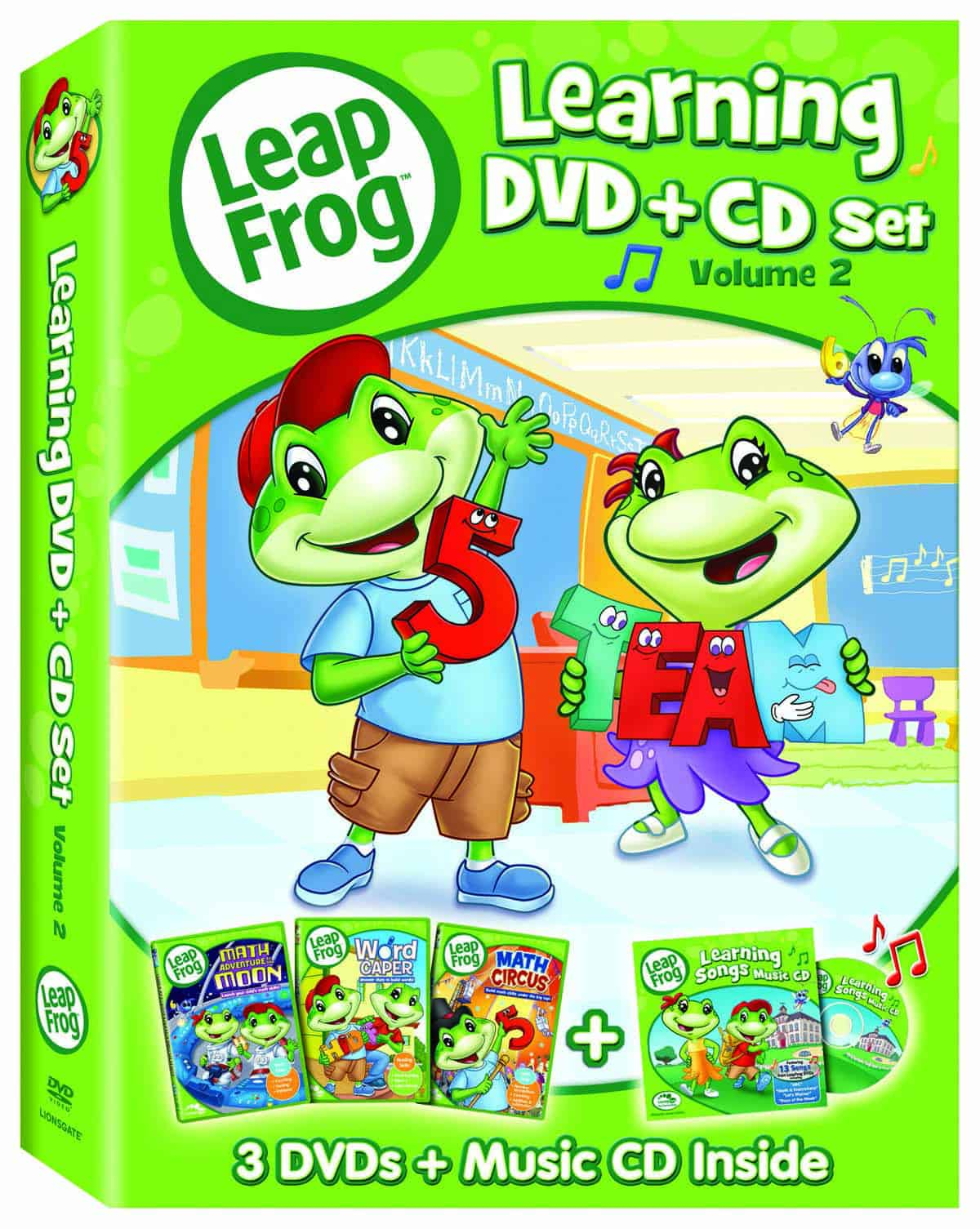 LeapFrog Learning DVD + CD Set, Volume 2‏