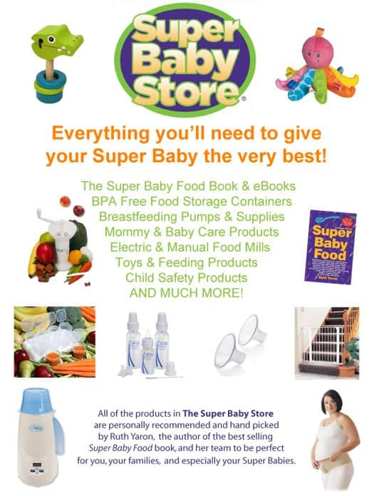The Super Baby Store {Giveaway of over $100 in Baby Products}