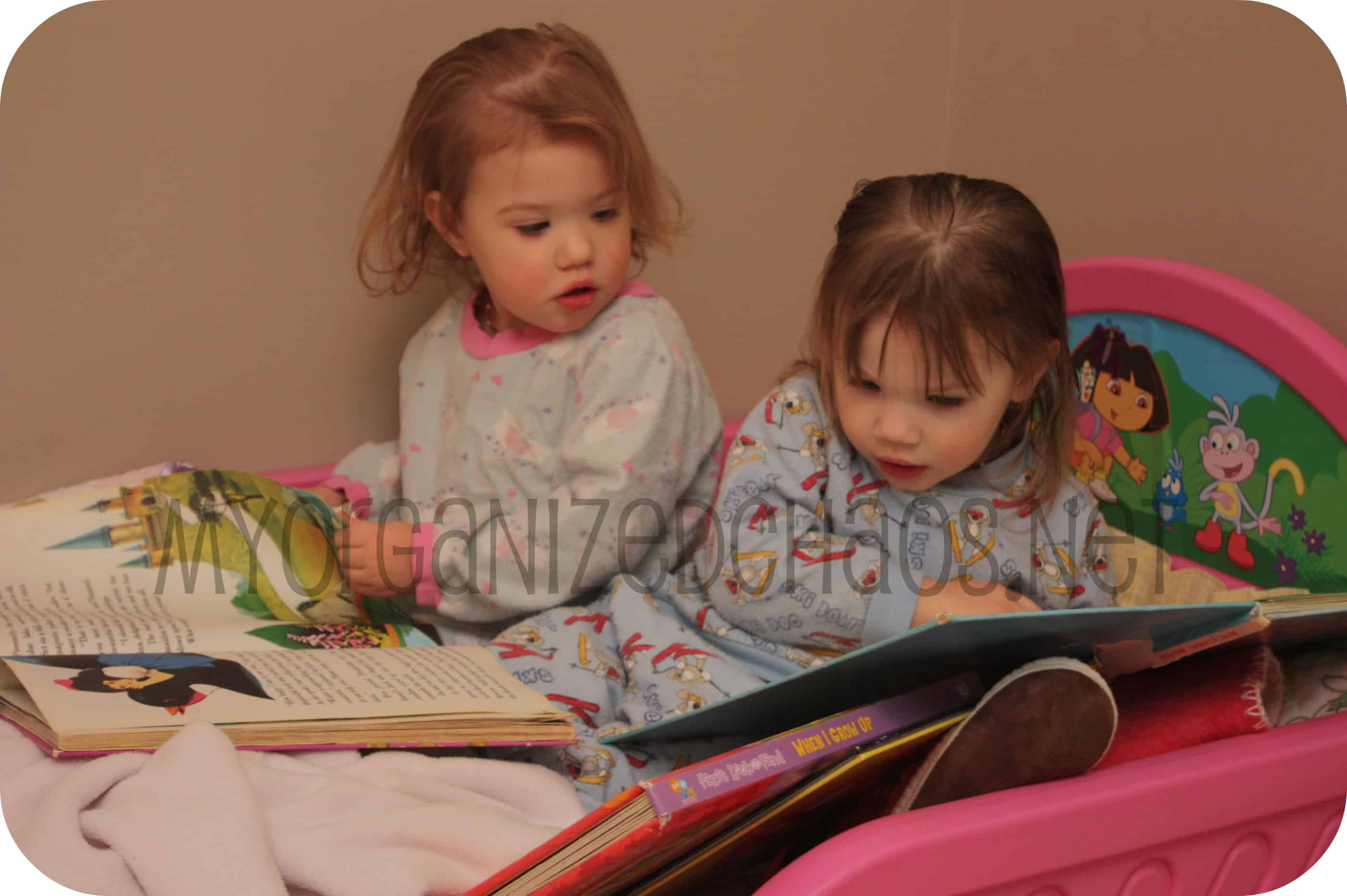 Wordless Wednesday ~ My Little Big Twin Girls