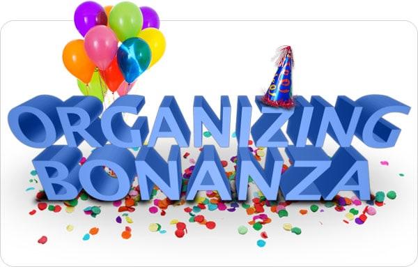Rubbermaid Organizing Bonanza!