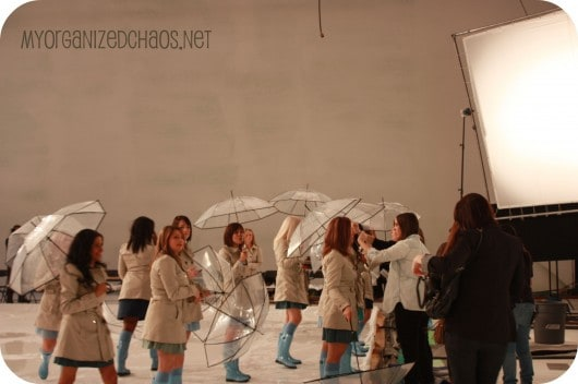 Dove Music Video, My Singing In The Rain Experience