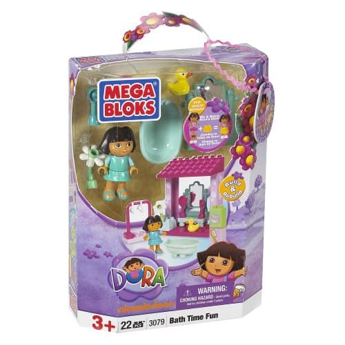 Dora bathtime buildable playset