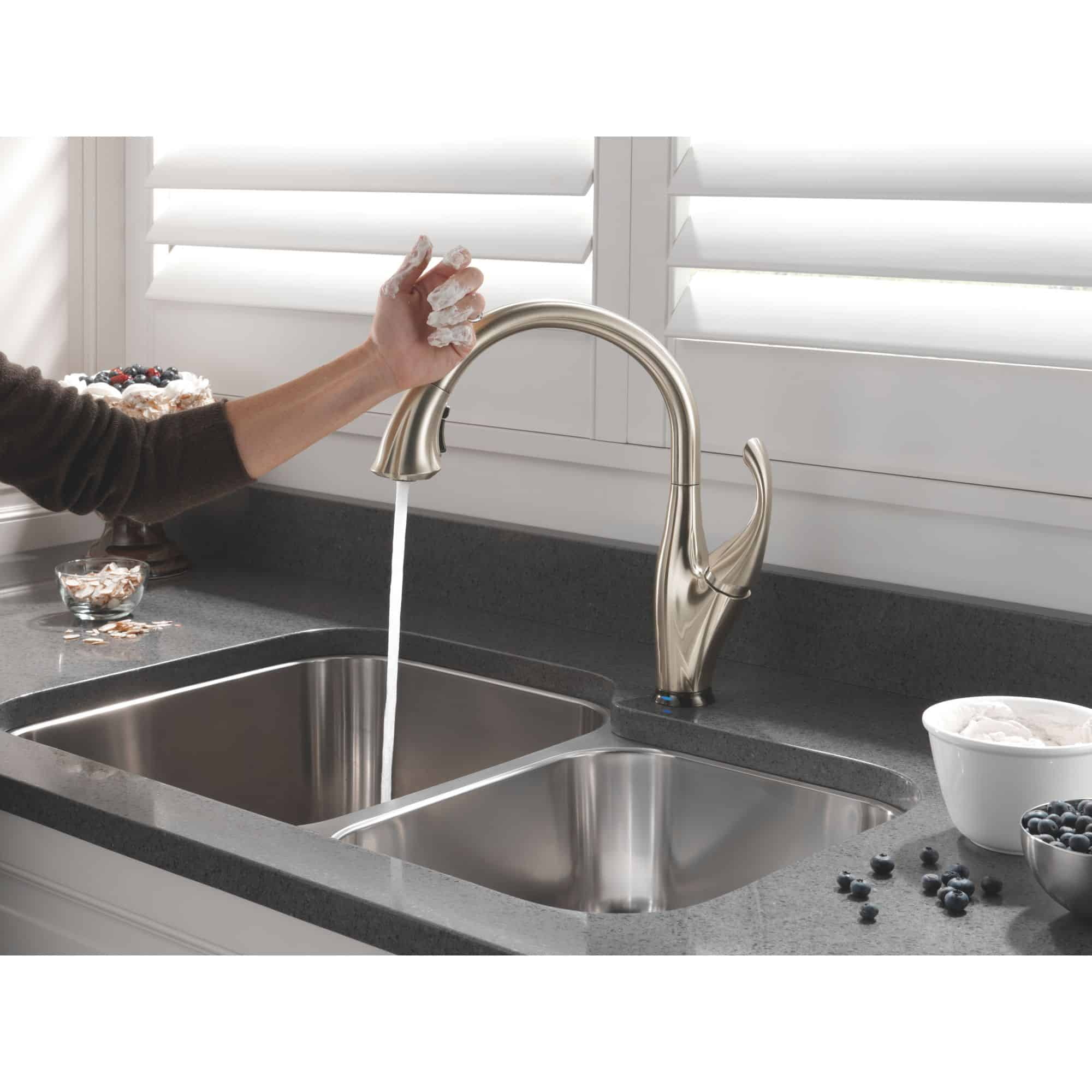 Delta Faucet with Touch2O Technology!