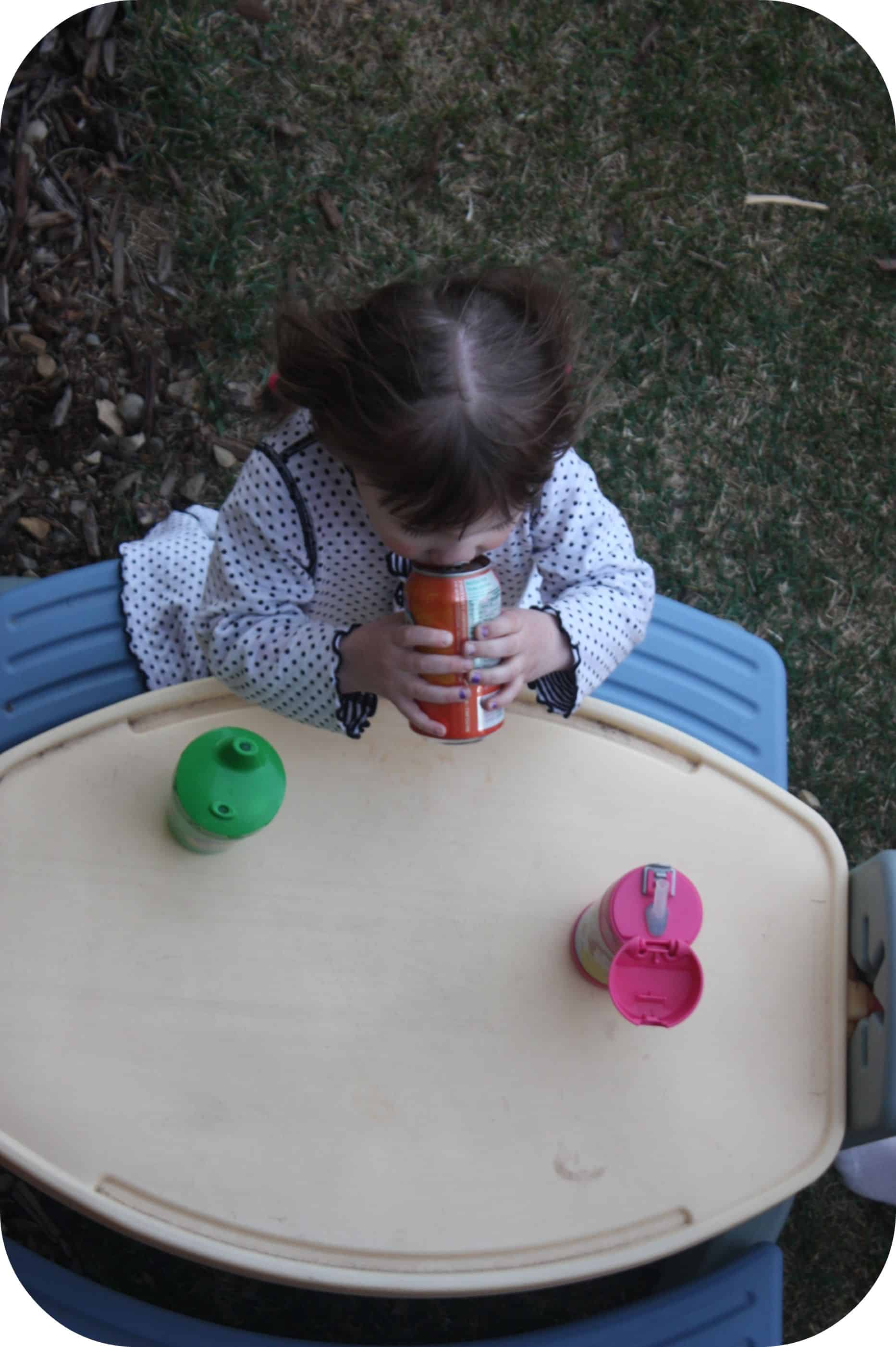 Wordless Wednesday ~ The First Taste {with Linky}