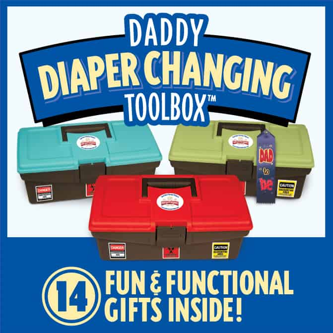 The Daddy Diaper Changing Toolbox‏