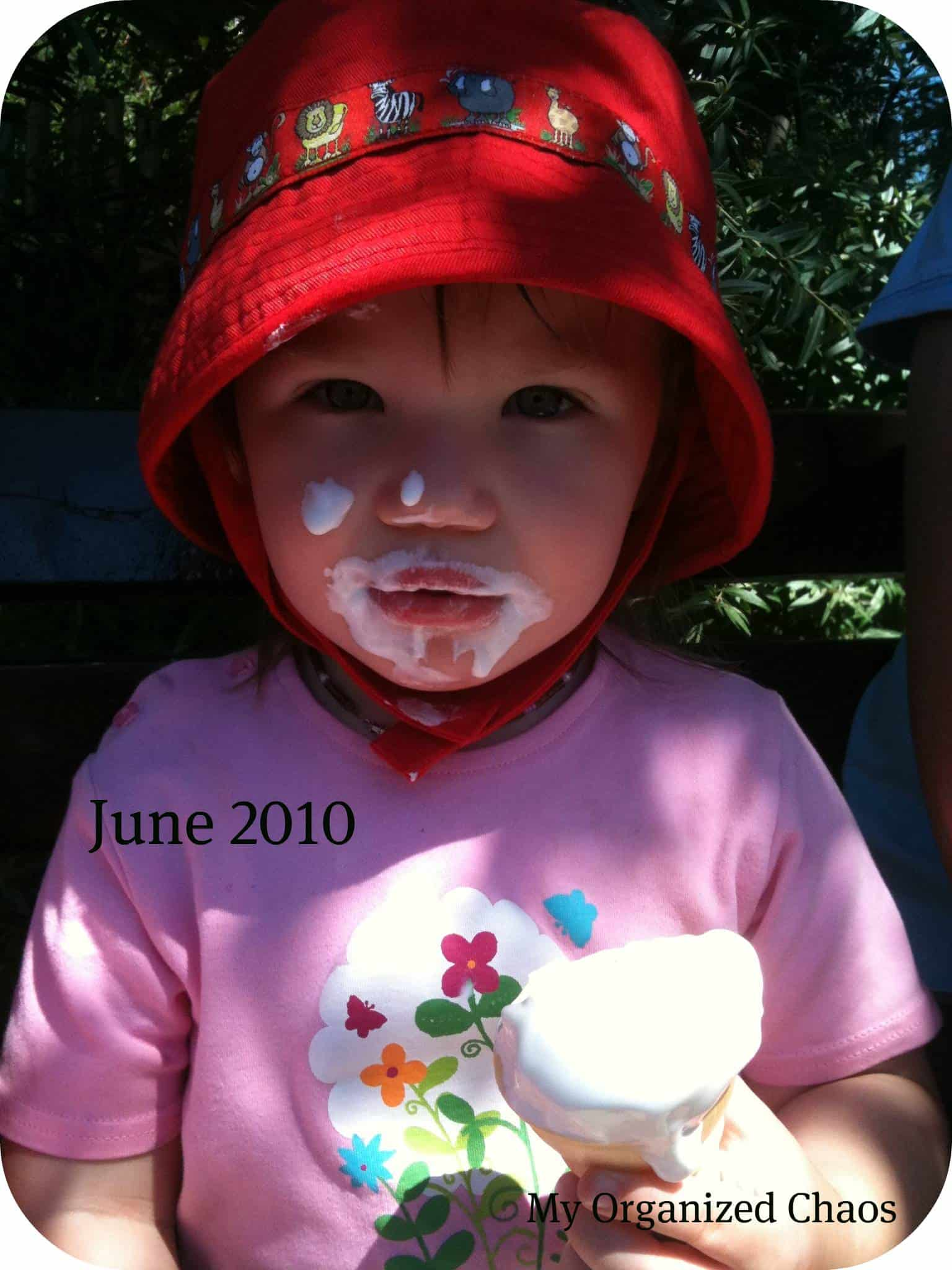 Wordless Wednesday ~ One Year {with Linky}