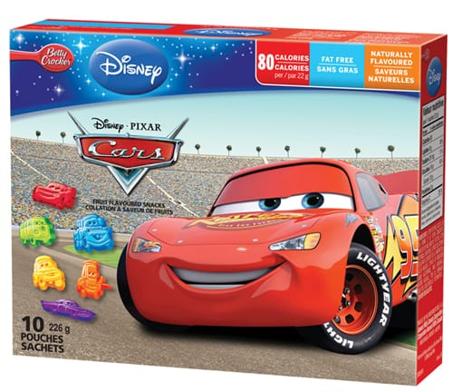 Cars 2 Visa Gift Card Giveaway {and Disney Fruit Shapes}