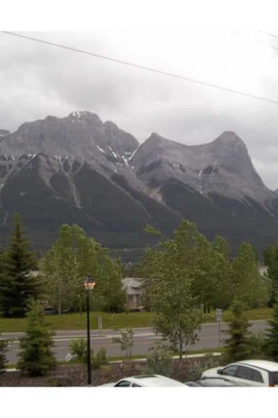 Nokia Unfenced in the Canadian Rockies