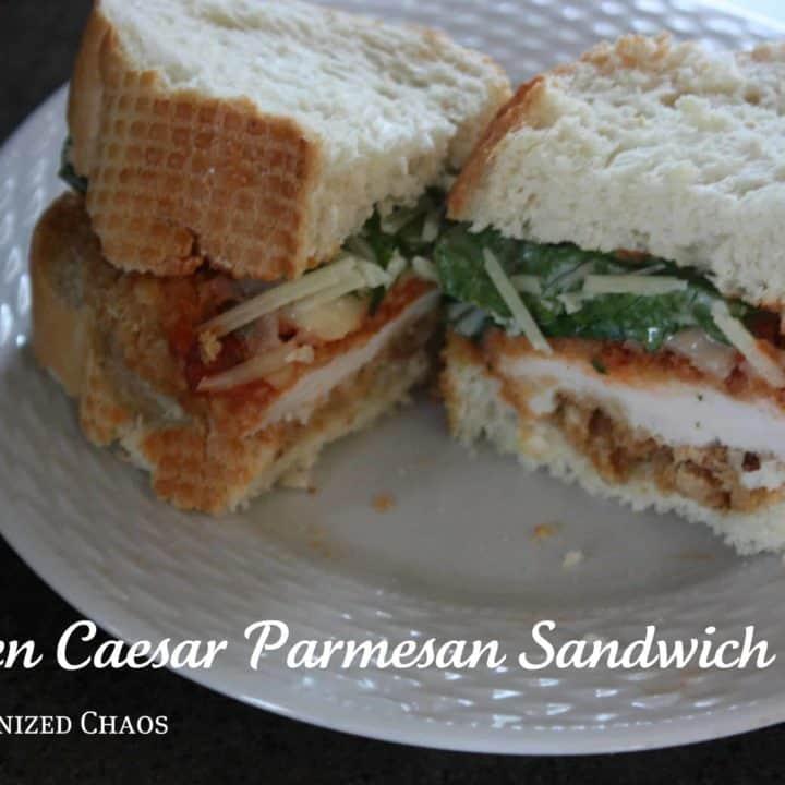 Chicken Caesar Parmesan Sandwich