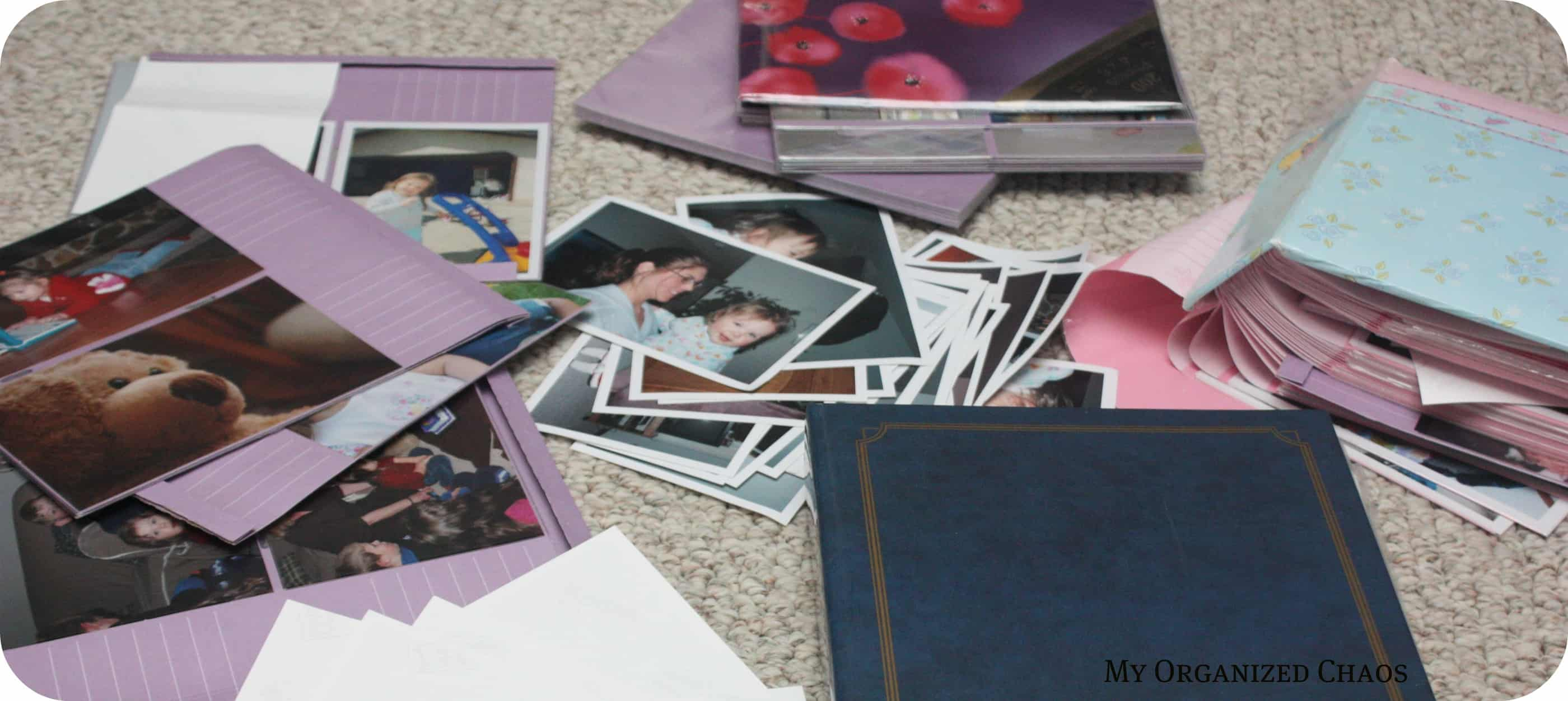 Photo Organization ~ I Despise Photo Albums!