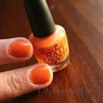 OPI Nail Polish Review Canadian Blogger
