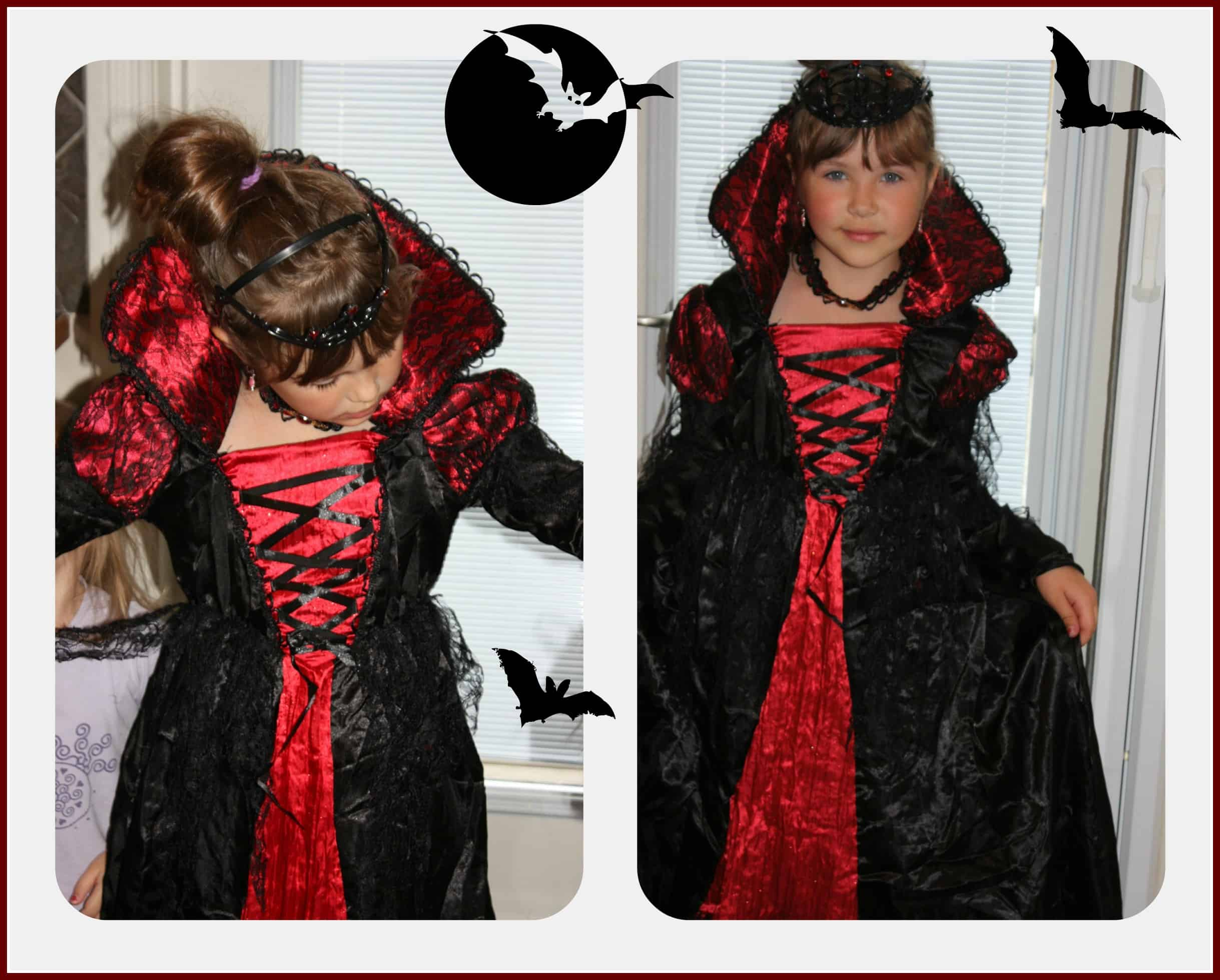 A Canadian Vampire-Princess for Halloween