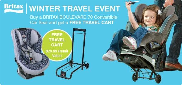 Britax Winter Travel Promotion {Free Travel Cart}