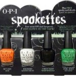 spookettes halloween colors OPI