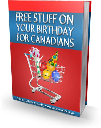 Free Stuff on your Birthday {For Canadians}