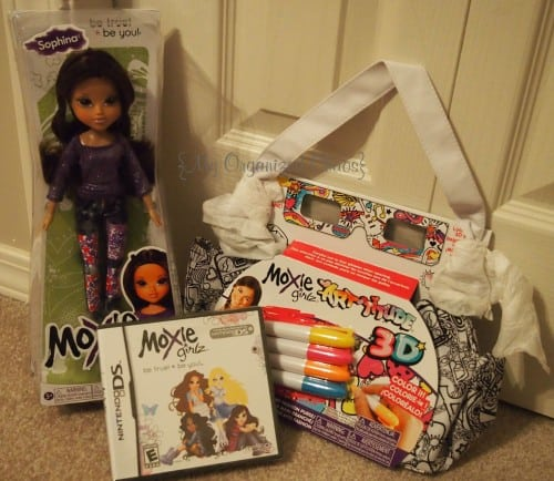 Moxie Girlz Nintendo DS Game Review holiday gift guide