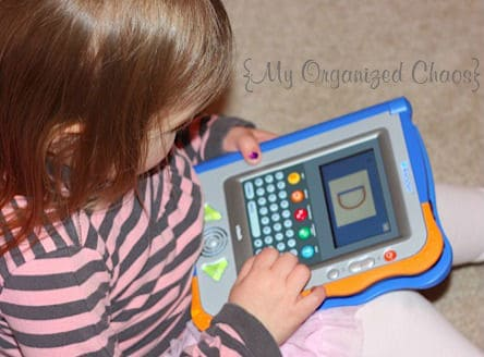 vtech V.Reader review my organized chaos