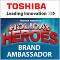Toshiba 3D TV: ShesConnected Brand Ambassador