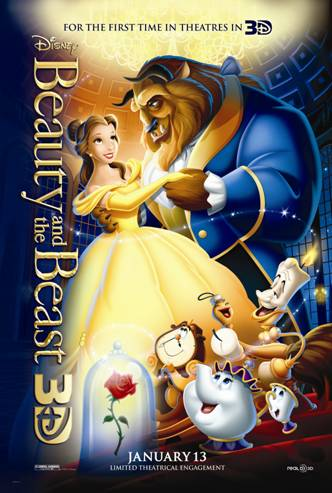 Disney's Beauty and the Beast at Theatres in 3D!