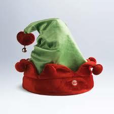 Giggle Along: Rockin' Talkin' Elf Hat