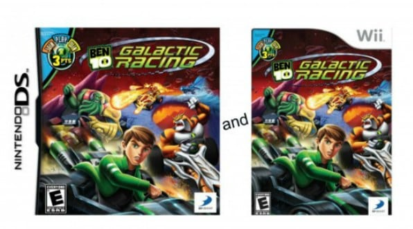 BEN 10 Galactic Racing for Nintendo Wii and DS