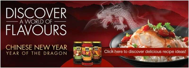 Celebrate Chinese New Year with VH Sauces