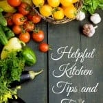 helpful kitchen tips and tricks
