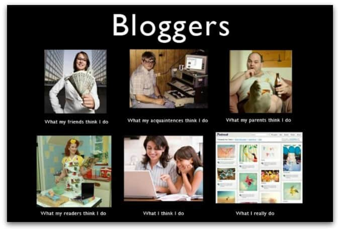 What Bloggers Really Do in Social Media