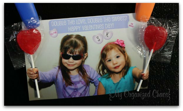 Homemade Lollipop Photo Valentines!